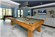 Pool table in the Alta Longwood game room.