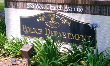 Police Department Outdoor Sign