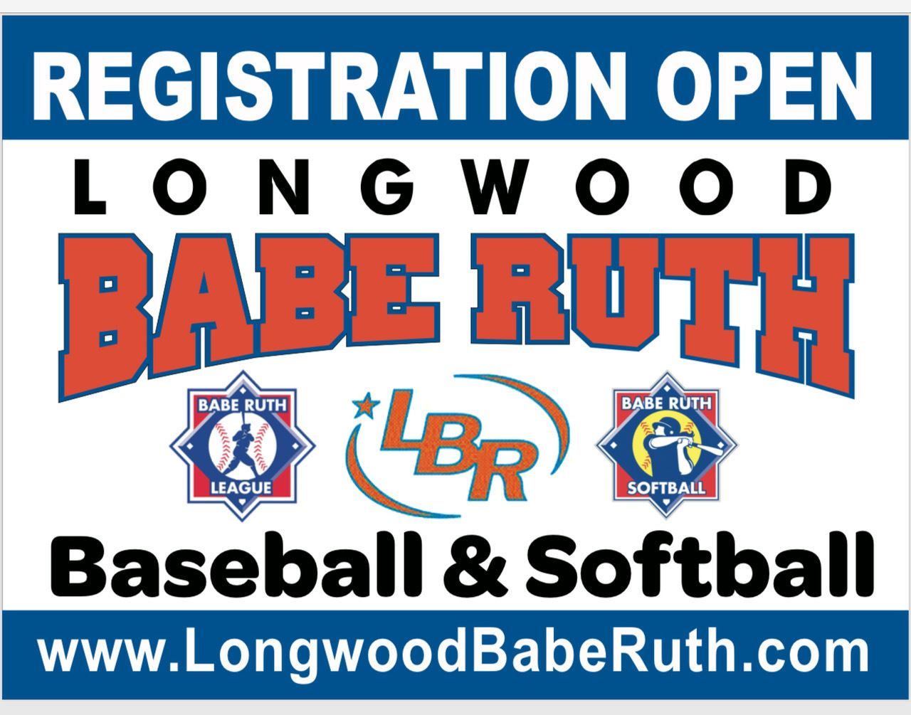 Longwood Babe Ruth Sign Ups